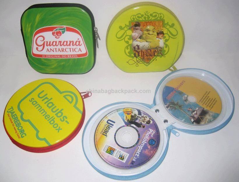 Zipper Tin CD Holder