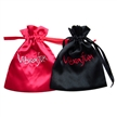 Satin Gift Bag with Embroidery Logo