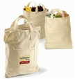 100% Organic Cotton Grocery Bag