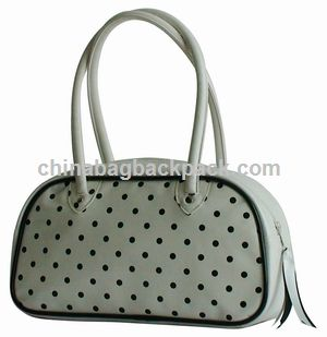 Dot Impression PVC Sac à main