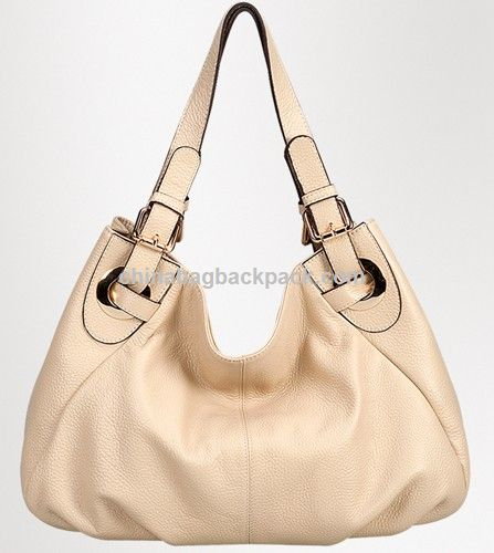 Ivory Grain Leather Hand Bags