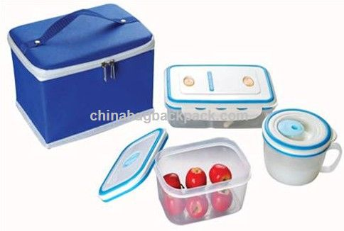 Food Container With Picnic Bag