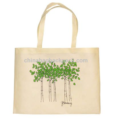 Cotton Shopping Bags on Eco Friendly Natural Cotton Shopping Bag