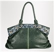 Snake Leather Shoulder Bag