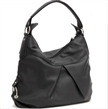 Simple Black Designer Shoulder Tote Bag