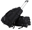 Black Trolley Backpack Bag