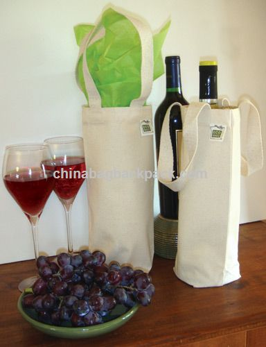 Recycled Cotton Bag Wine