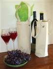 Recycled Cotton Wine Bag
