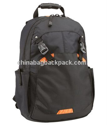 Zippered Laptop Backpack