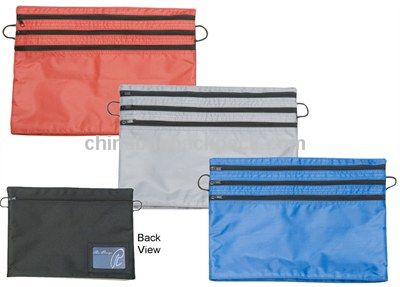 Zip Up Document Bag