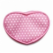 PVC Coin Purse in Heart Shape, Modern Design, Available in Various Sizes and Colors