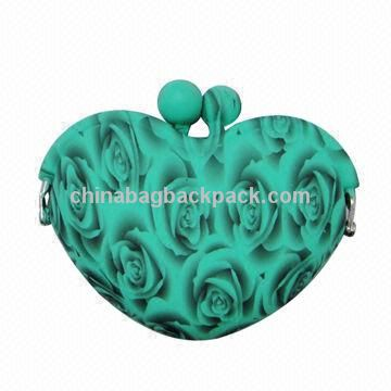 Silicone Coin Purse con Customized stampa di trasferimento dell'acqua