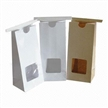 Grocery Bags with PVC window, craft paper, green product, ideal for food