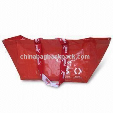 PP Woven Grocery Bag in Puma Design, Suitable for Promotional and Gift Purposes