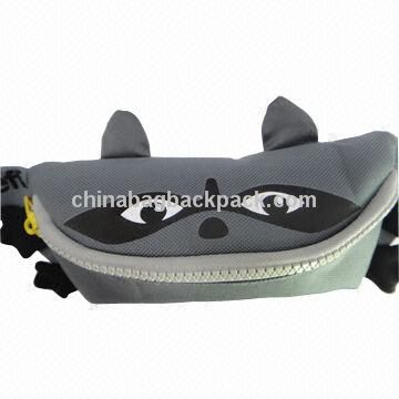 Waist Bag with Fashionable Design, Made of 600D and Dobby