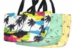 2015 Fabric Printed Ladies Beach Bag and Women's Tote Bag